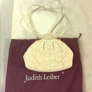 Vintage Floral Embroidered Judith Leiber Bag