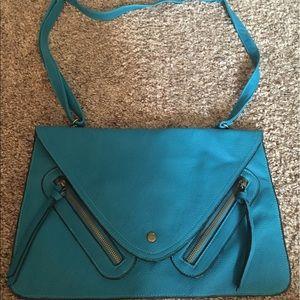 Handbags - NWOT Turquoise Envelope Bag