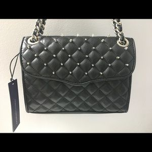 NWT Rebecca Minkoff Mini Quilted Affair with Studs
