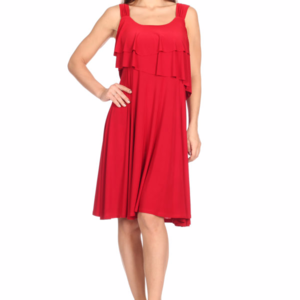 VALENTINES DAY Liquid Knit Fit & Flair Dress