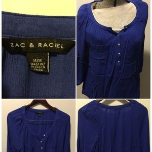 Button Front Tunic Size M