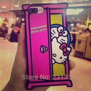 Accessories - Hello kitty Doraemon iPhone 6/6s Plus Case