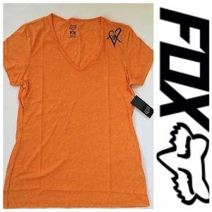 Fox Tops - 🆕Fox Racing Women's Limiter V-neck Tee Orange