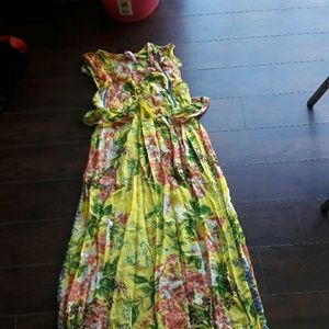 Tracy reese maxi dress