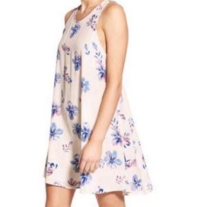 ASTR • floral racerback swing dress