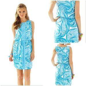 Lilly Pulitzer Sea Ruffles Windward Dress