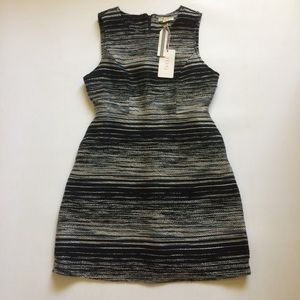 Tulle Brand NWT Tweed dress black and white small