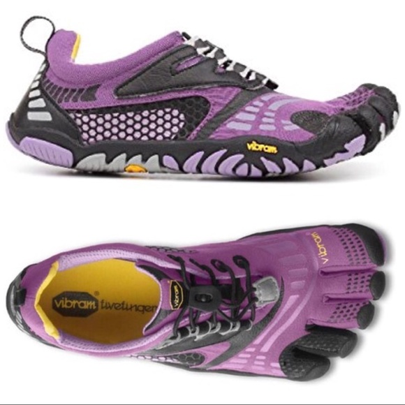 release date dea29 c16f8 Vibram FiveFingers Woman s Komodo Purple Shoes