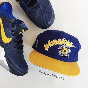 Other - Vintage fitted NBA Warriors hat