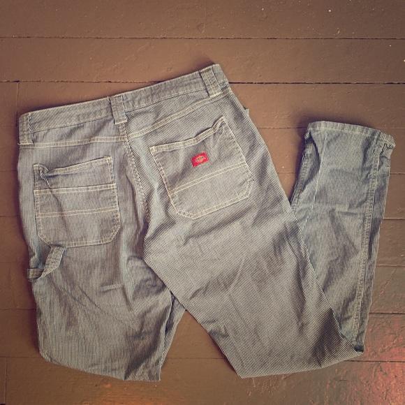 4a0f5cc055 Dickies Pants - Women s Dickies Heritage hickory stripe work pants