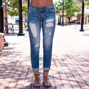 Denim - Super cute distressed jeans
