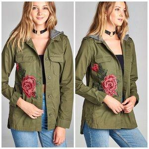 Jackets & Blazers - Cady Flower Utility Jacket 🌺