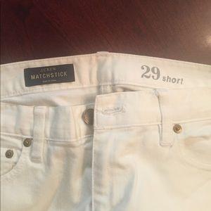 J. Crew Jeans - White jeans