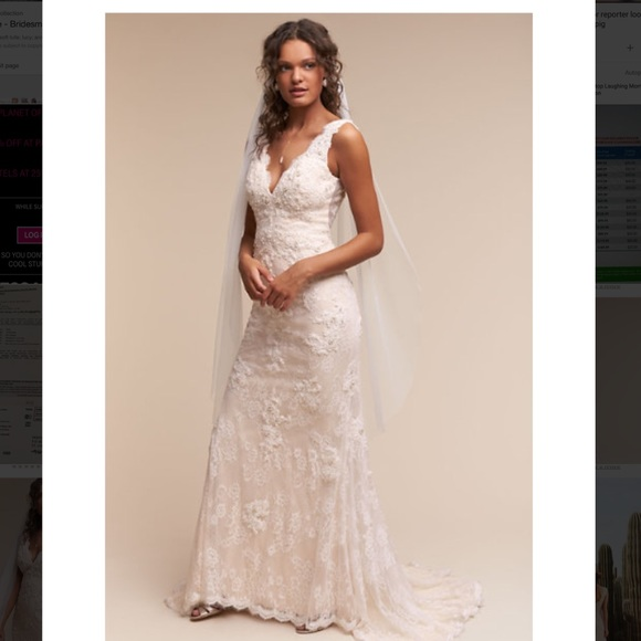 Anthropologie Wedding Dress: 40% Off BHLDN Dresses & Skirts