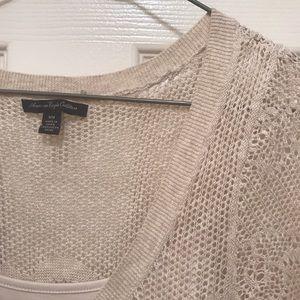 American Eagle Outfitters Dresses - American Eagle crochet dress