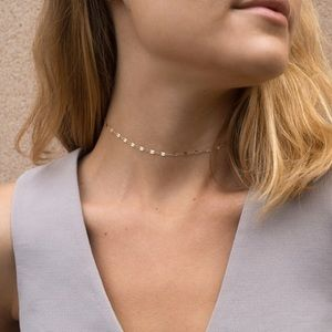 Jewelry - Simple Dainty Gold Tone Choker