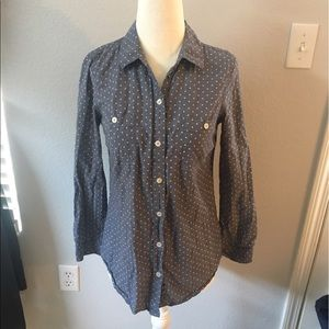 🔥30%OFF🔥 Old navy button down polka size XS