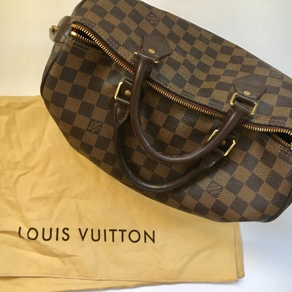 0b835d7c3674 Louis Vuitton Handbags - Authentic Louis Vuitton Damier Speedy 30