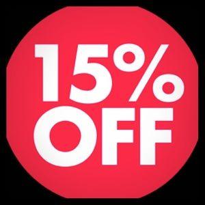 15% off 2 item bundle !!!!