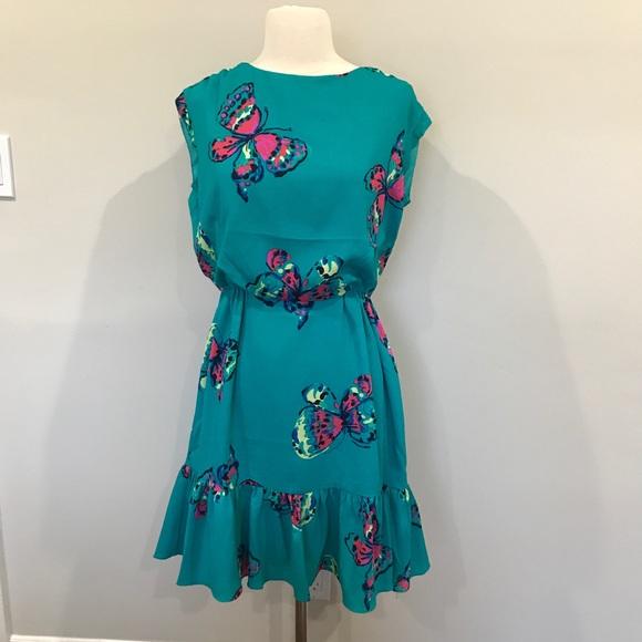 7e63c05a7b NWT Lily Pulitzer Auburn Butterfly Dress