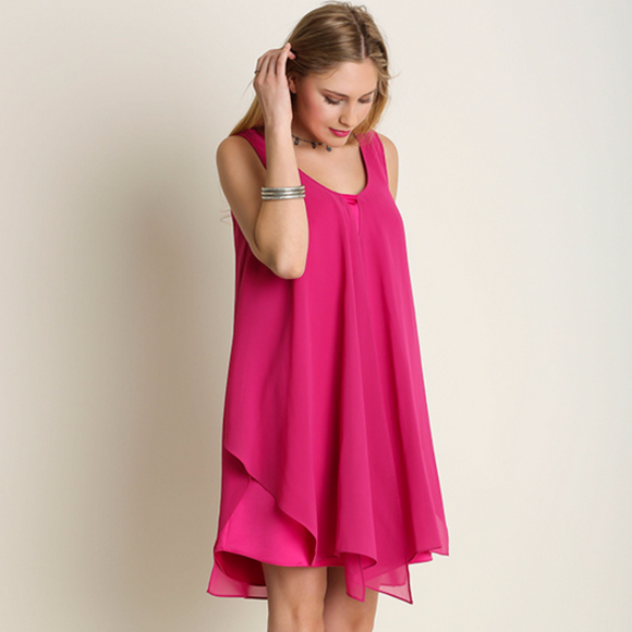 Umgee Tops - NWT UMGEE PINK Night Out Dress
