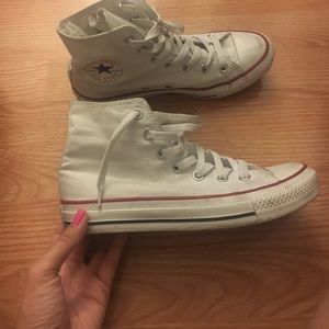 Converse All Star White size 7 womens