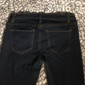 Forever 21 skinny dark wash jeans