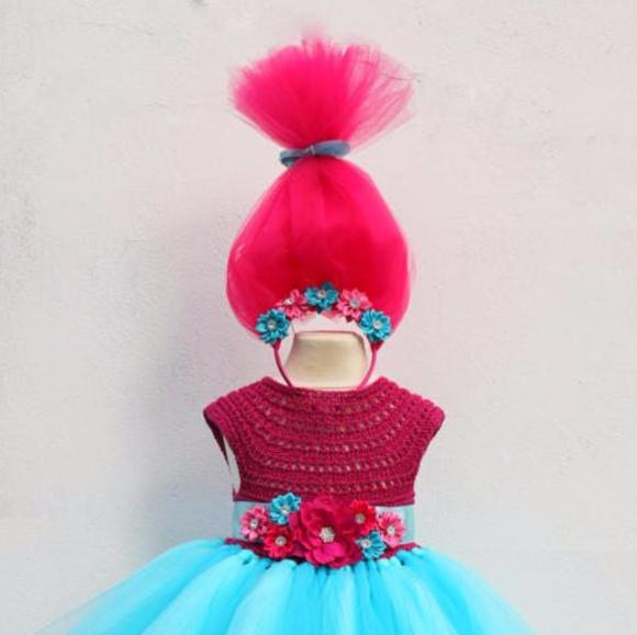 f219c3ade handmade Dresses | Poppy Troll Luxury Dress Poppy Troll Dress | Poshmark