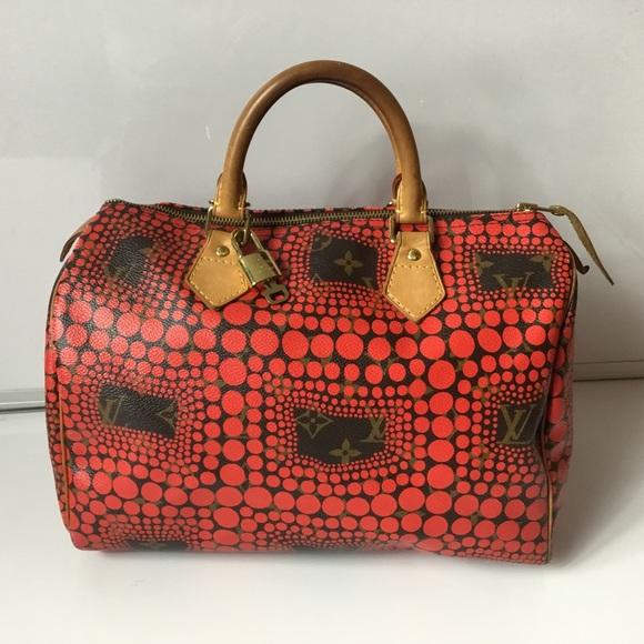 7e760d8de80d Louis Vuitton Handbags - 100%Authentic Louis Vuitton Speedy 30 Yayoi Kusama