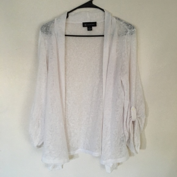 42% off INC International Concepts Sweaters - Inc sheer white ...