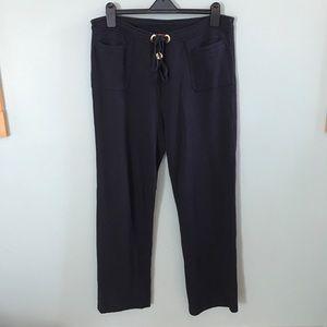 Tory Burch Navy Lounge Pants