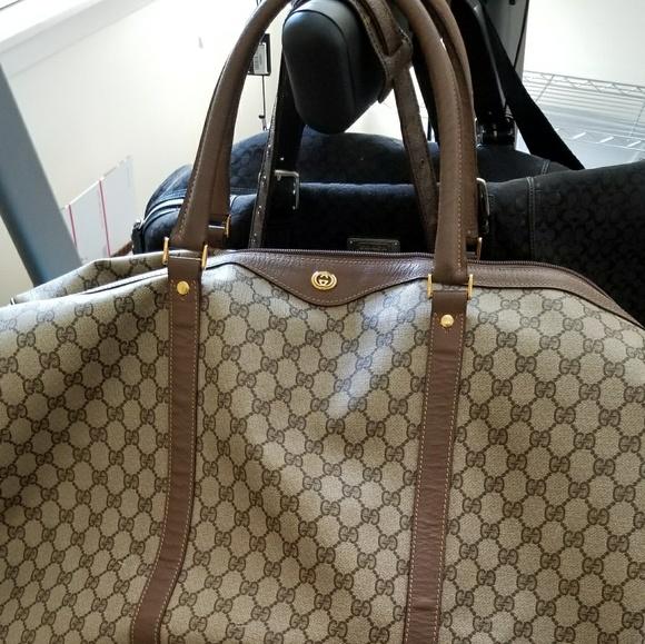 742d33c75279 Gucci Bags | Vintage Duffle | Poshmark