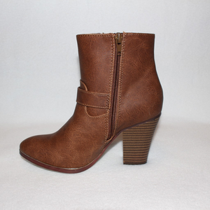 0639f6ff901 JustFab Shoes - Just Fab New Brown Tan Buckle Booties Boots