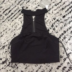 NWT LF Crop Top