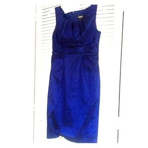 Royal blue cocktail dress - Adrianna Papell