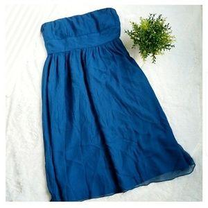 J. Crew Emily Silk Chiffon Dress!!