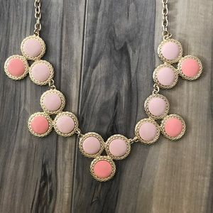 Pink Necklace & Earrings Set