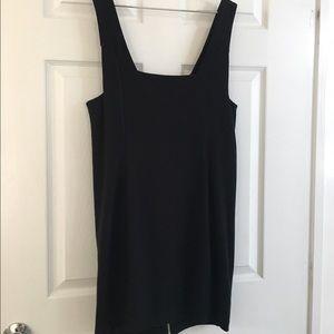 Alexander Wang Dresses - NWT L BLACK ALEXANDER WANG ZIPPER DRESS