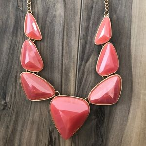 Coral Necklace/Earrings Set