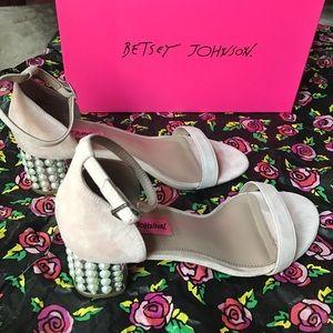 Betsey Johnson Blocked Heeled Shoes
