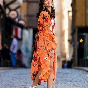 🆕 Kimono with balloon sleeves