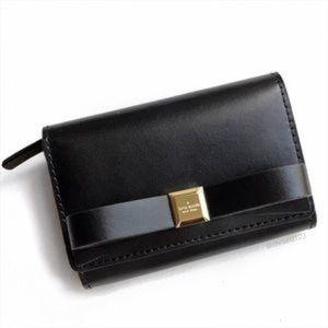 Kate spade darla bow wallet keychain