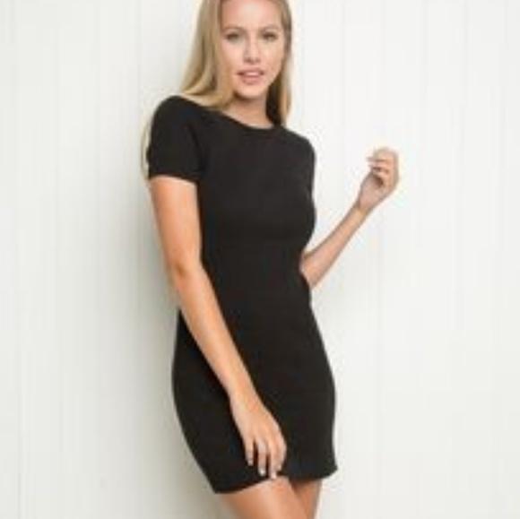 d230b190 Brandy Melville Dresses & Skirts - Brandy Melville ribbed knit bodycon t-shirt  dress