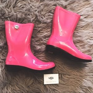 UGG Pink Rainboots