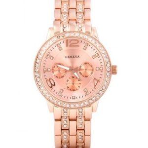 Stunning Rose Gold Fashion Watch
