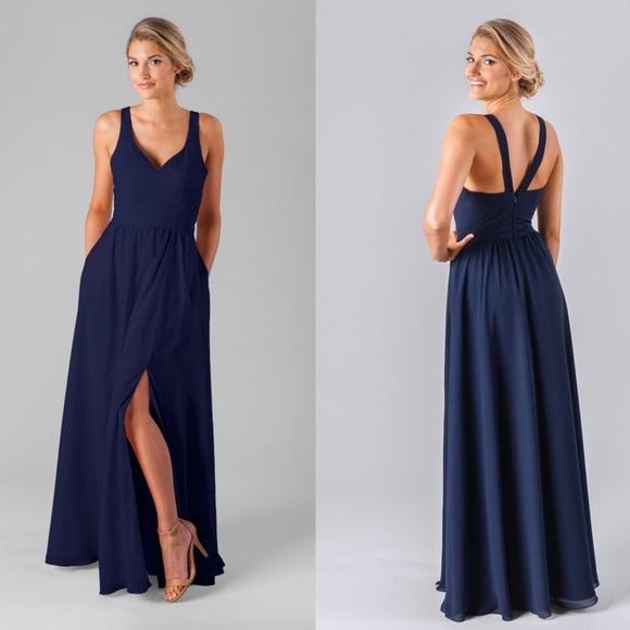 a84b87b86b3 Kennedy Blue Dresses   Skirts - Kennedy Blue Riley Navy Bridesmaid Dress