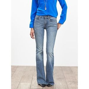 Banana republic Amsterdam flare jeans *NWT*