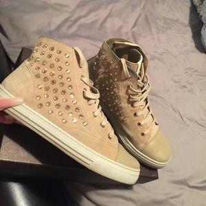 Gucci Shoes - Swarovski Gucci Mid Gym Shoe