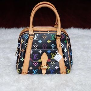 Authentic lv multicolor