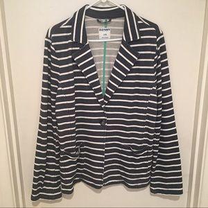 [Old Navy] Striped Cotton Blazer